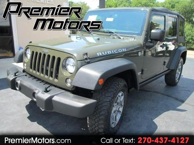 2015 Jeep Wrangler Unlimited 4WD 4dr Rubicon