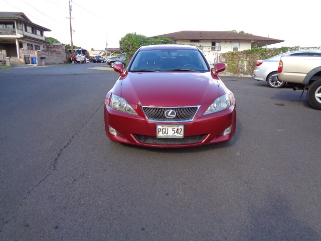 2007 Lexus IS IS 250 6-Speed Manual