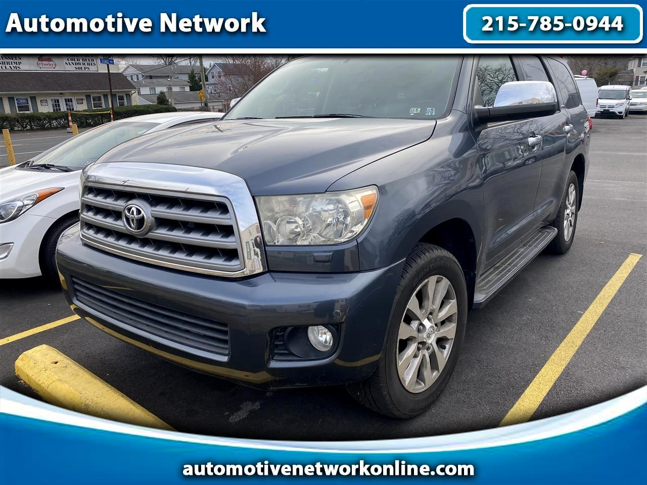 Toyota Sequoia Limited 4WD 2010