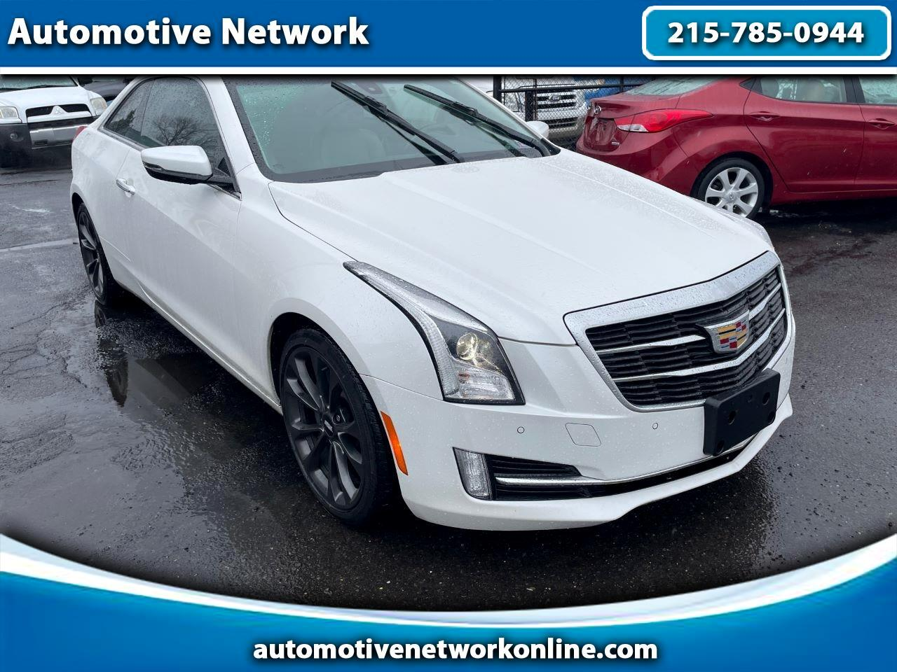 2017 Cadillac ATS Coupe 2.0L Luxury RWD