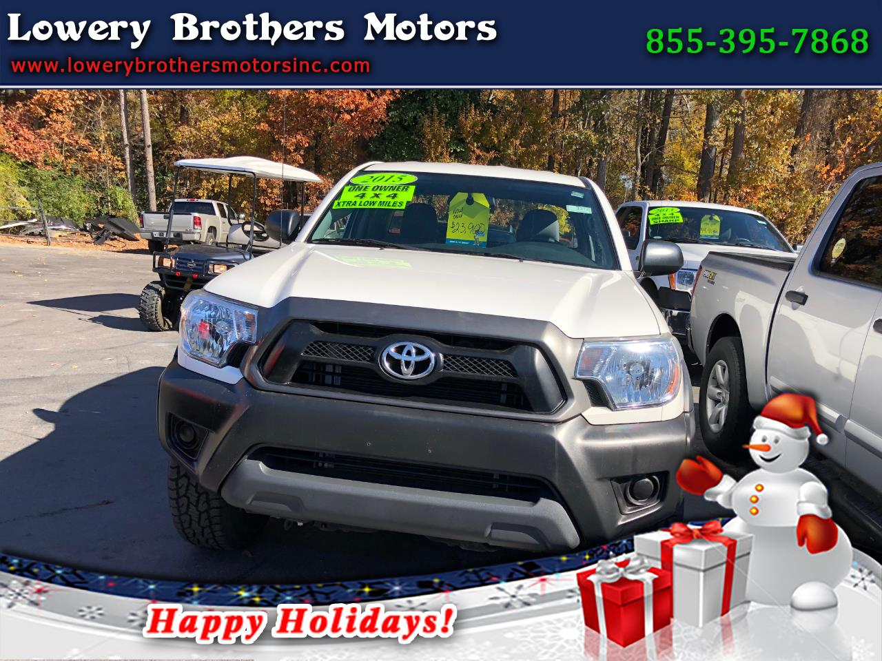 2015 Toyota Tacoma 4WD Access Cab V6 AT (Natl)