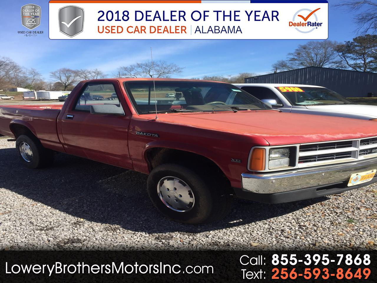 "1989 Dodge Dakota Sweptline 124"" WB 4WD"