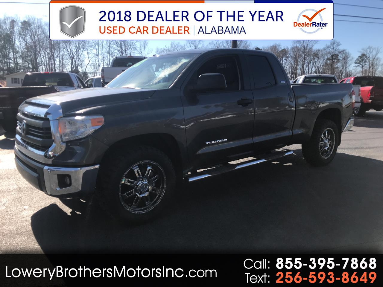 2014 Toyota Tundra 2WD Truck Double Cab 4.6L V8 6-Spd AT SR5 (Natl)