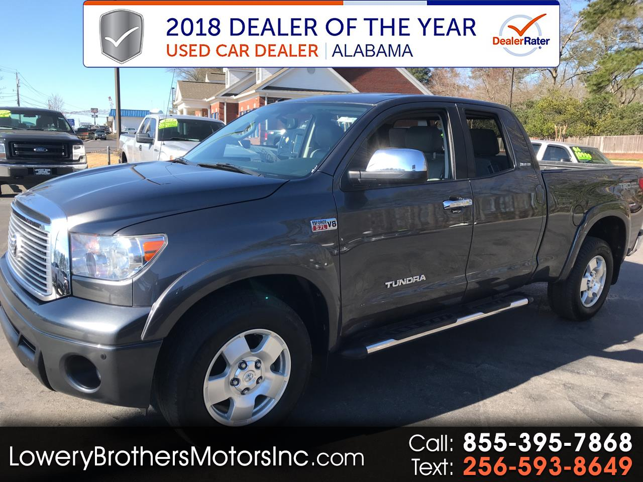 2013 Toyota Tundra 4WD Truck Double Cab 5.7L FFV V8 6-Spd AT LTD (Natl)