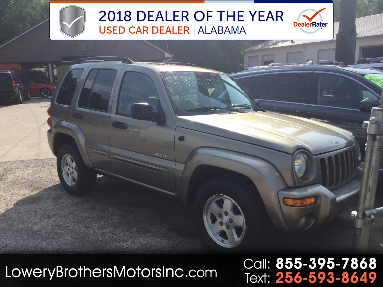 2004 Jeep Liberty 4dr Limited