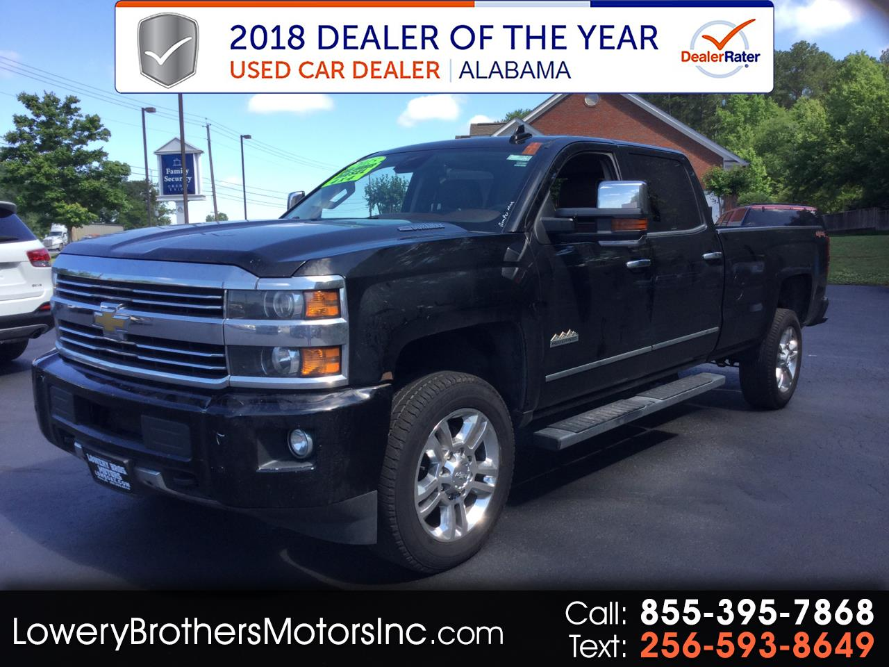 2015 Chevrolet Silverado 2500HD Built After Aug 14 4WD Crew Cab 167.7
