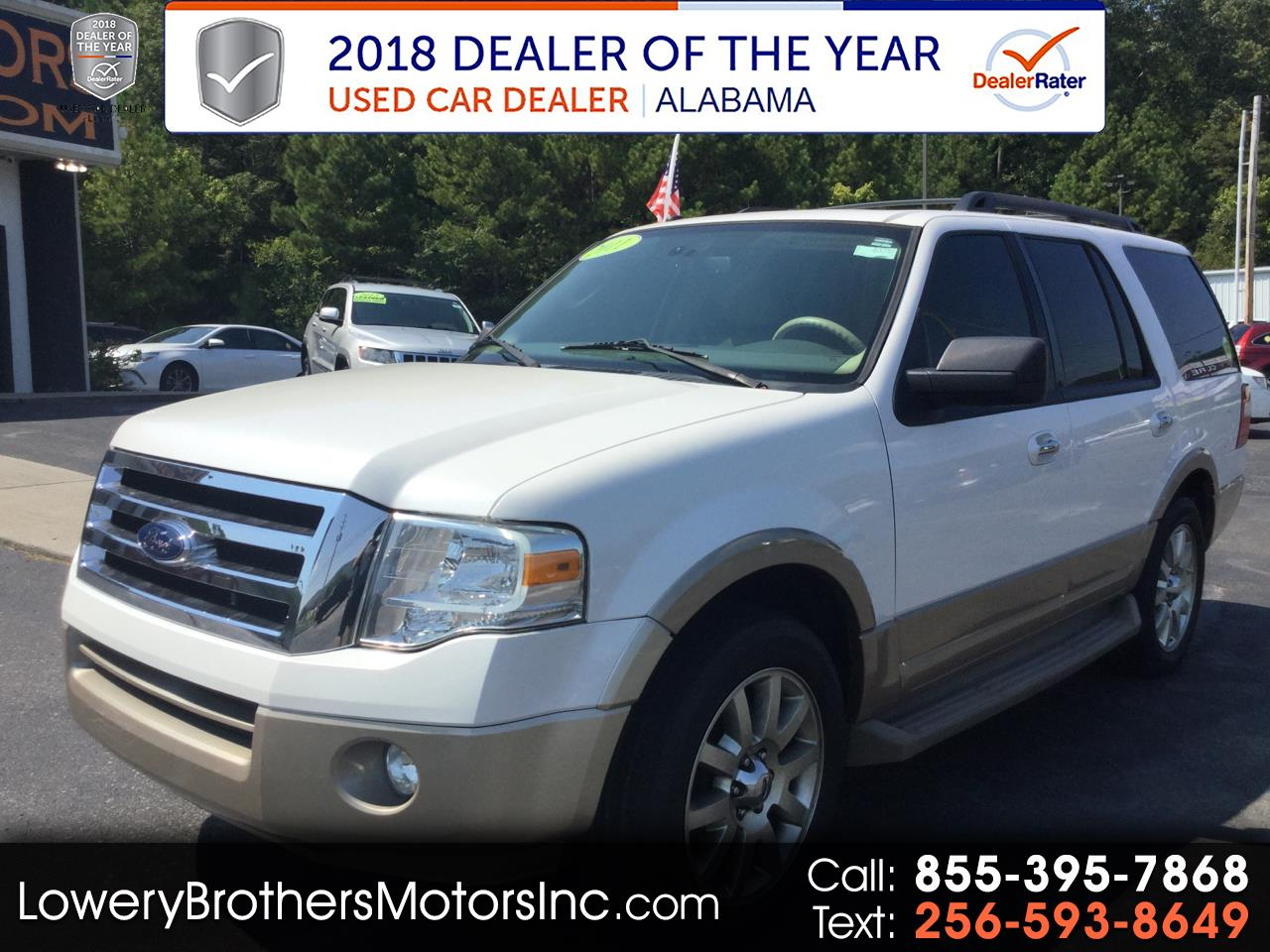 "2011 Ford Expedition 119"" WB XLT"
