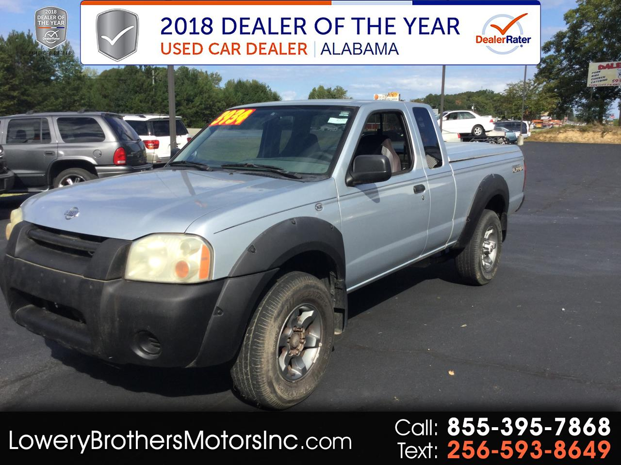 2001 Nissan Frontier 2WD XE King Cab V6 Manual Desert Runner