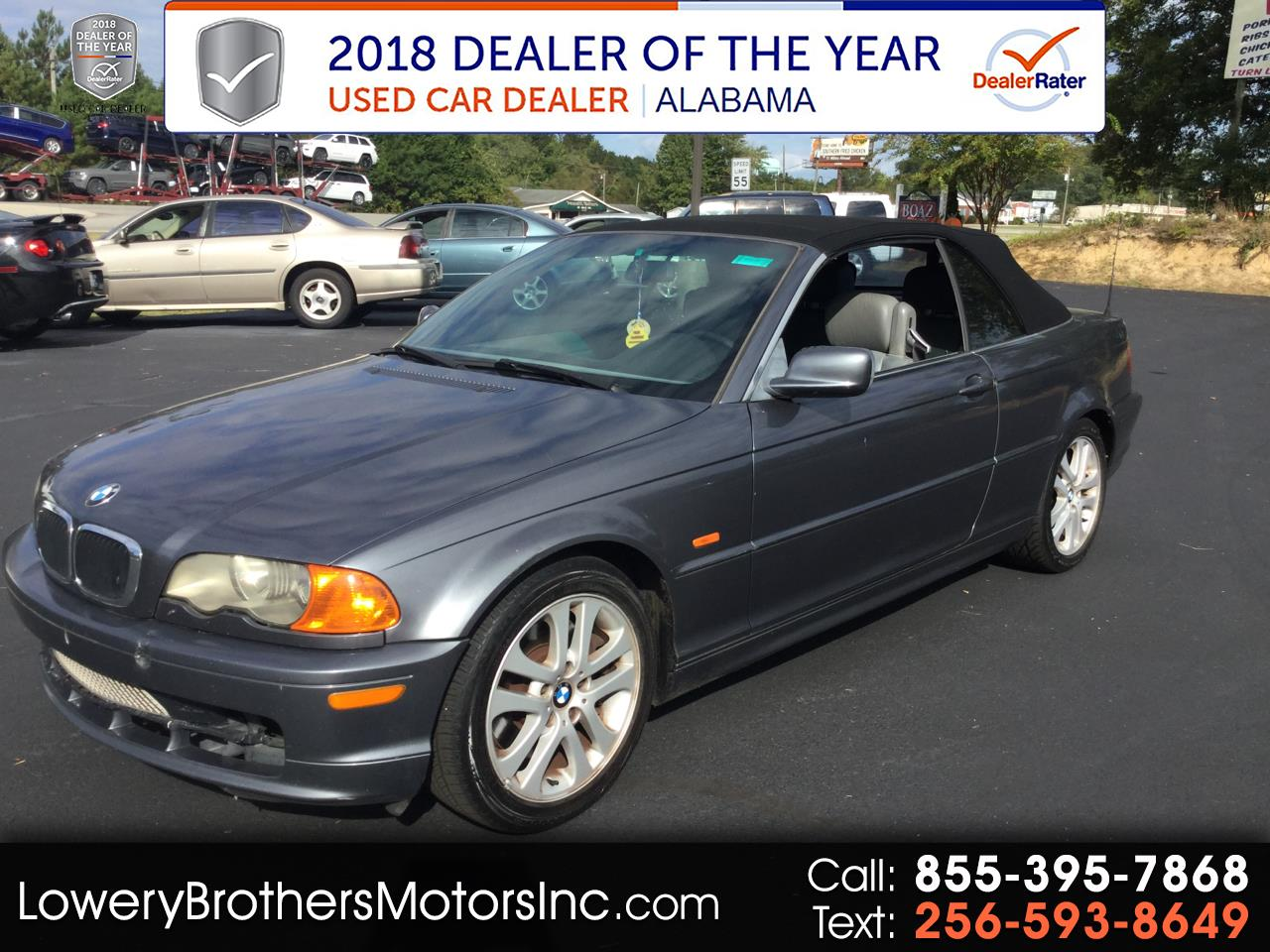 2001 BMW 3 Series 330Ci 2dr Convertible
