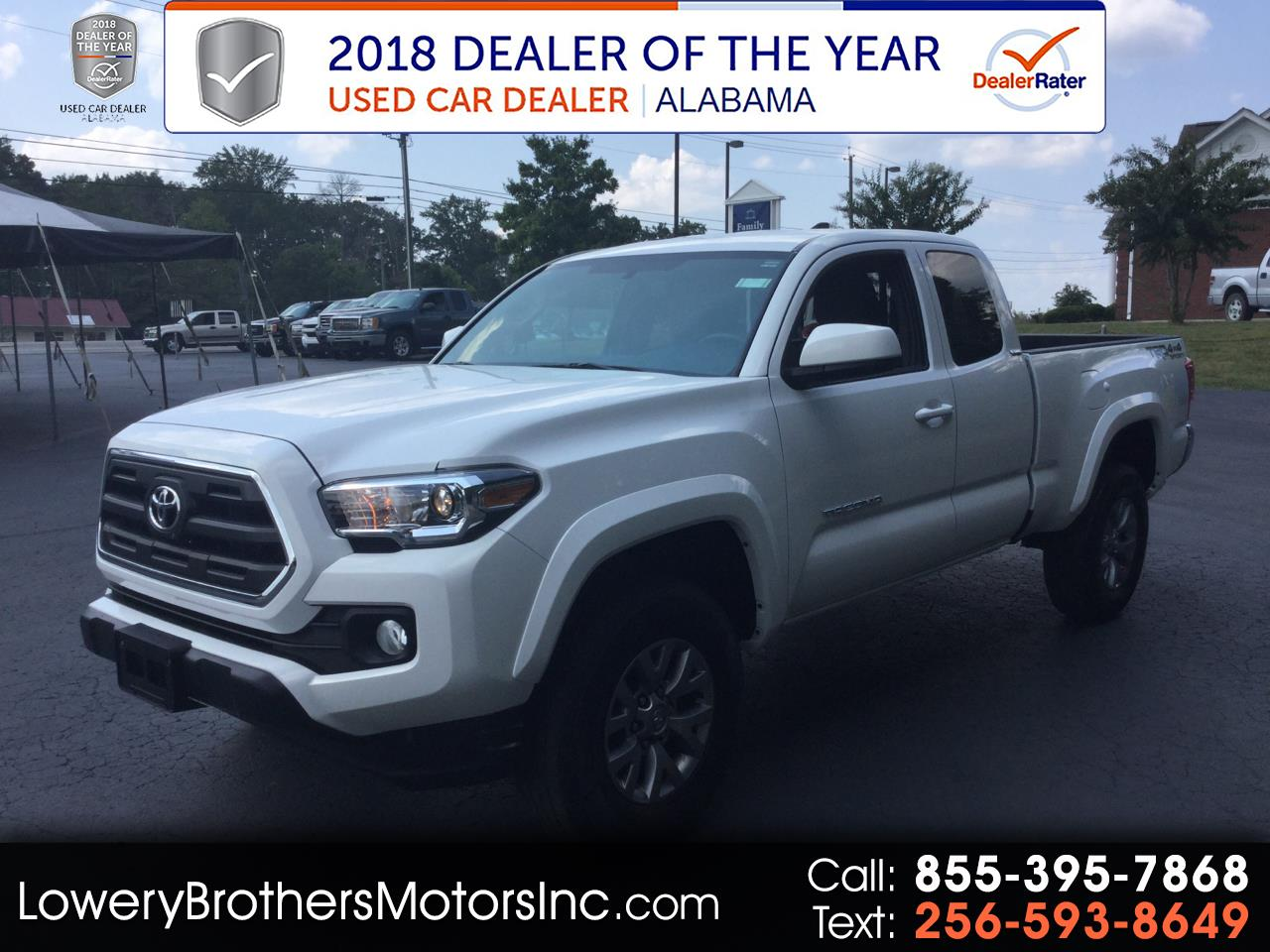 2017 Toyota Tacoma 4WD Access Cab V6 AT TRD Off Road (Natl)