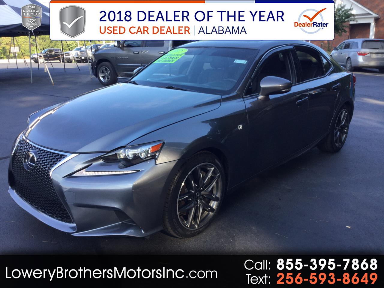 Lexus IS 350 4dr Sdn RWD 2015