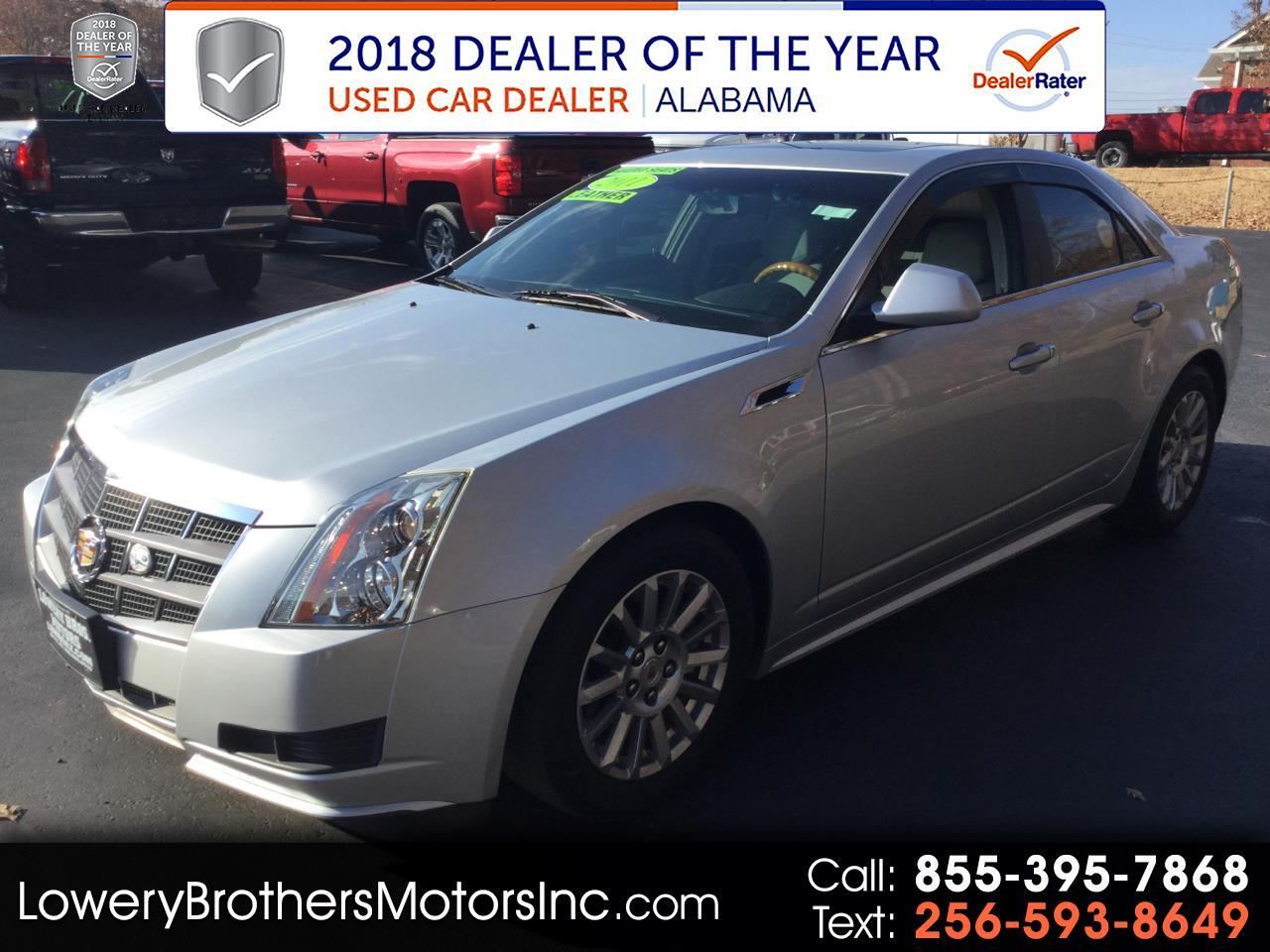 Cadillac CTS Sedan 4dr Sdn 3.0L Luxury RWD 2011