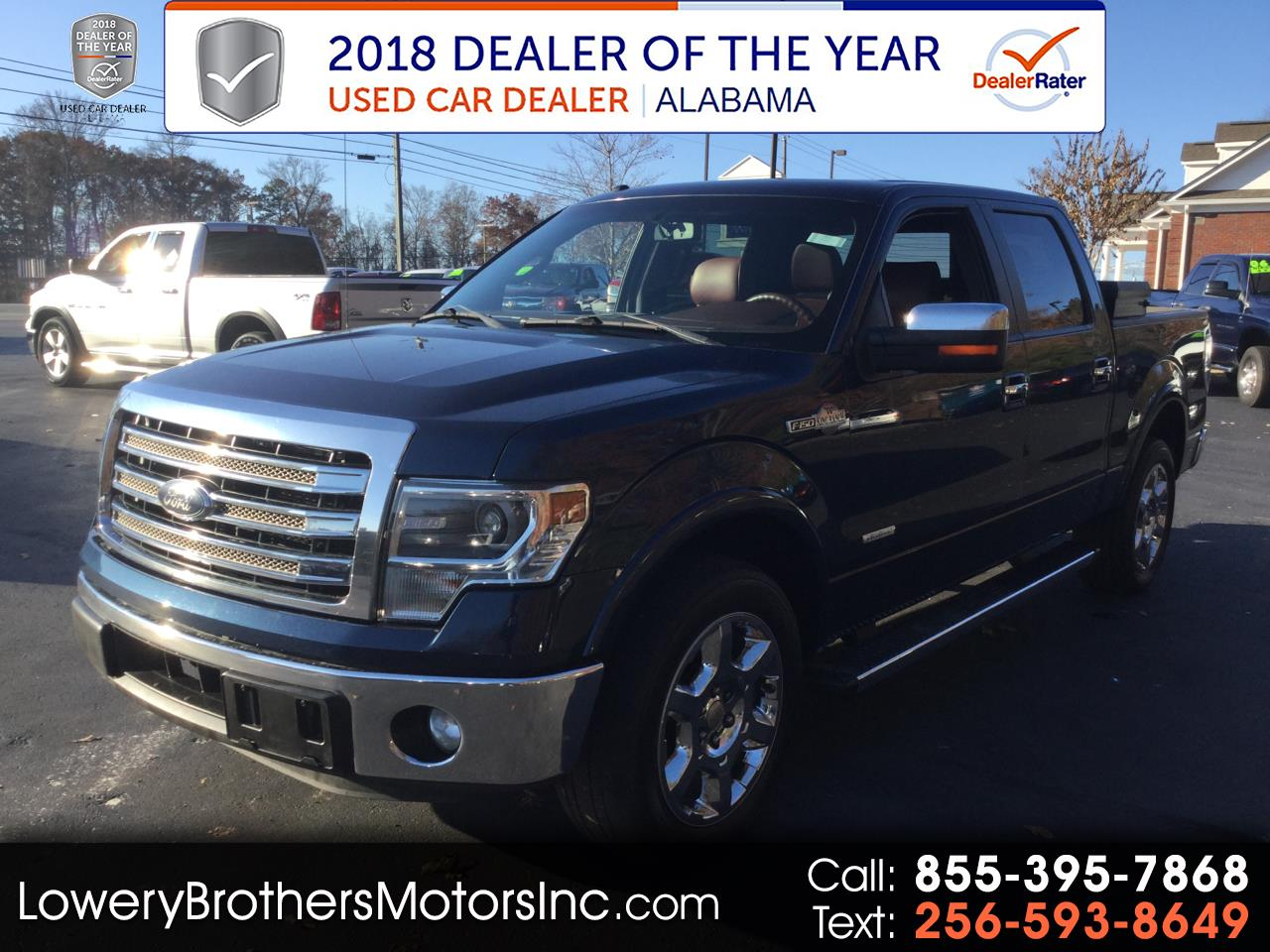 """Ford F-150 2WD SuperCrew 139"""" King Ranch 2014"""