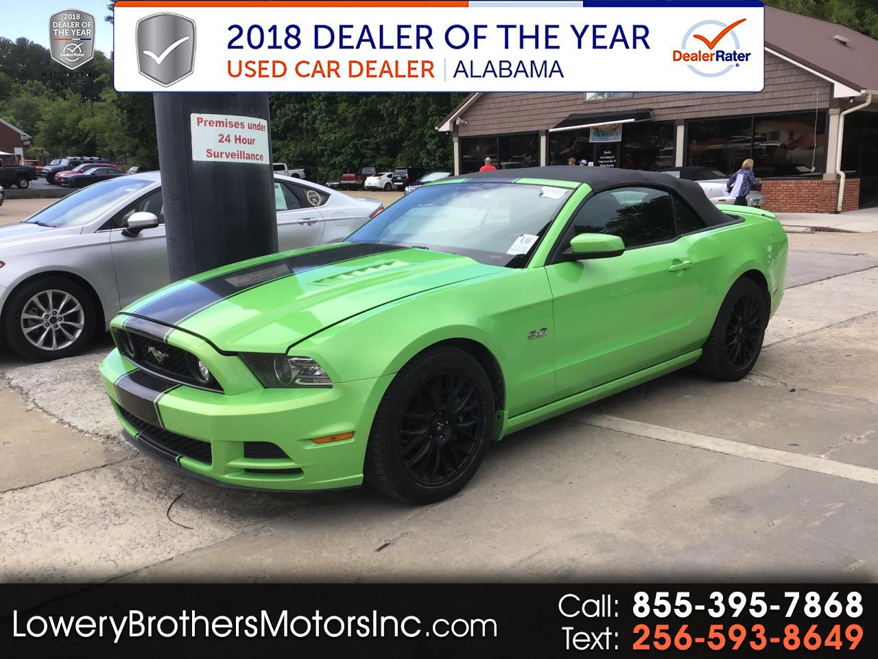 Ford Mustang 2dr Conv GT 2014
