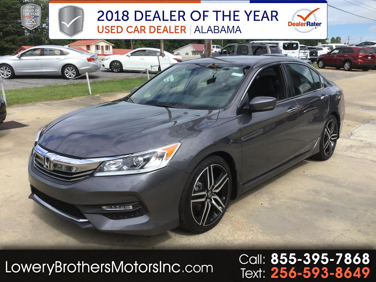 Honda Accord Sedan Sport SE CVT 2017