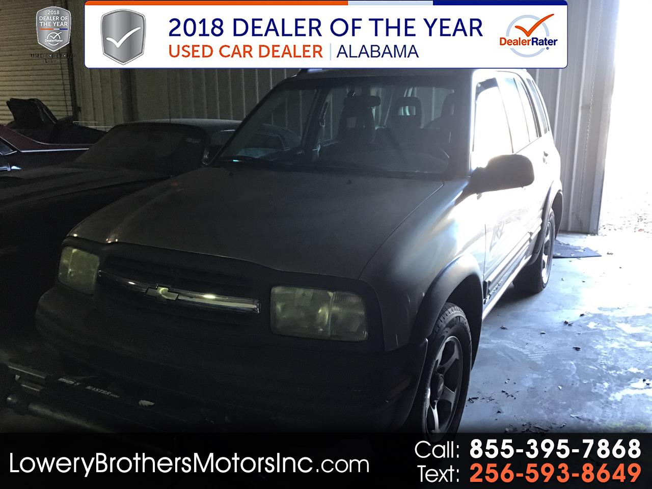 Chevrolet Tracker 4dr Hardtop 4WD ZR2 2002