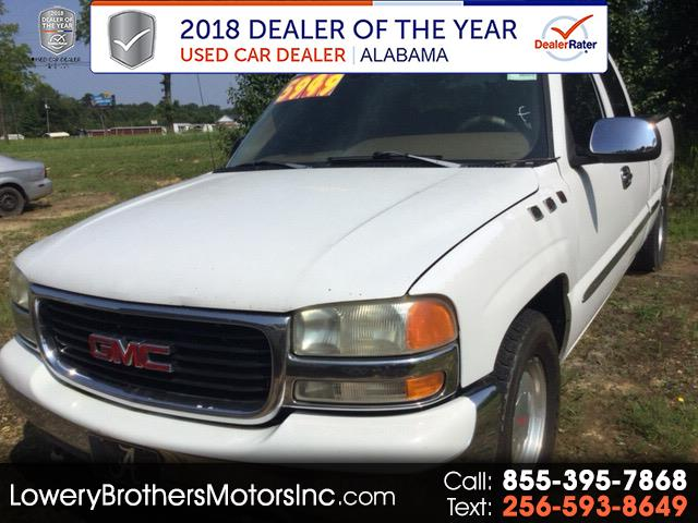 "1999 GMC New Sierra 1500 Ext Cab 143.5"" WB SLE"