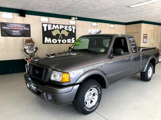 2004 Ford Ranger Edge SuperCab 4-Door 2WD