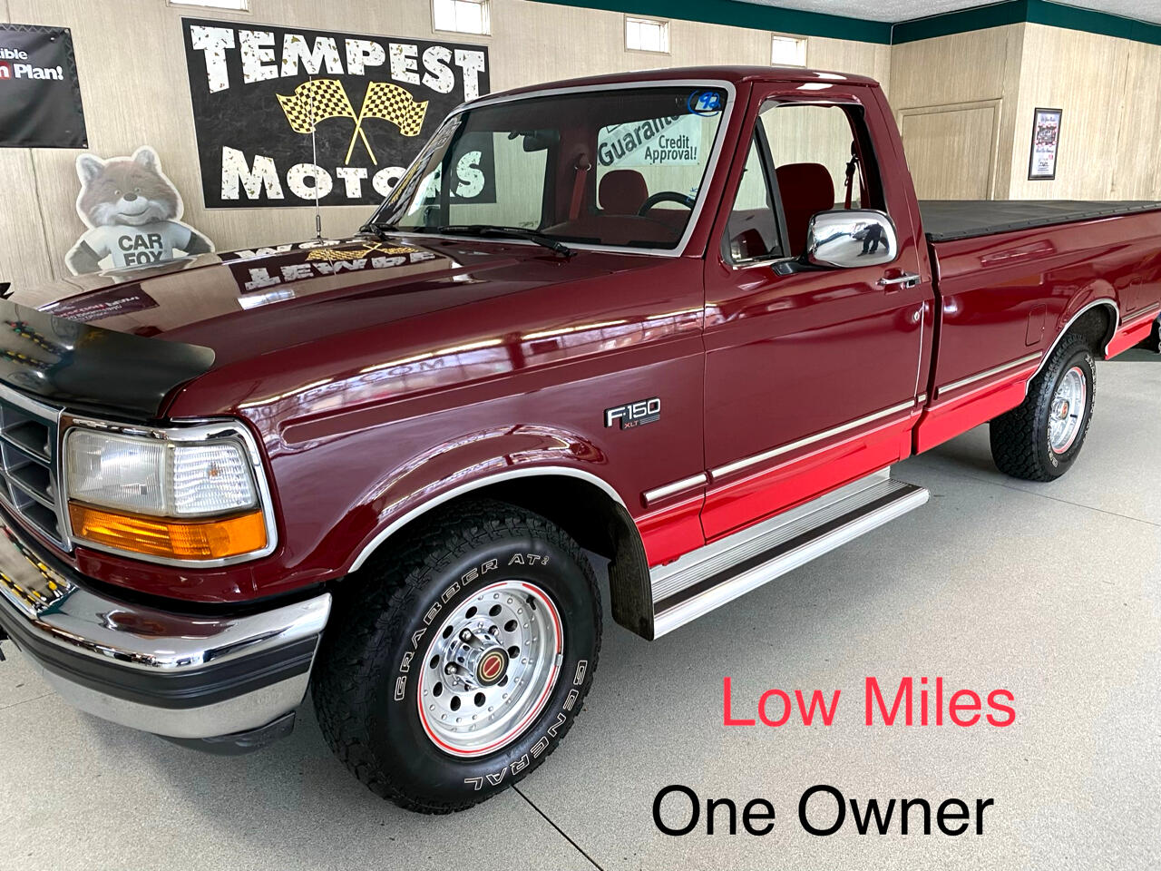 Ford F-150 Reg. Cab Long Bed 2WD 1992