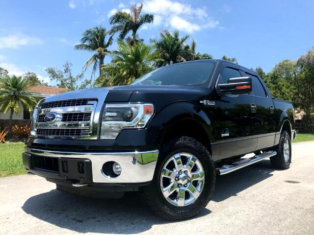 2014 Ford F-150 Lariat SuperCrew Short Bed 4WD