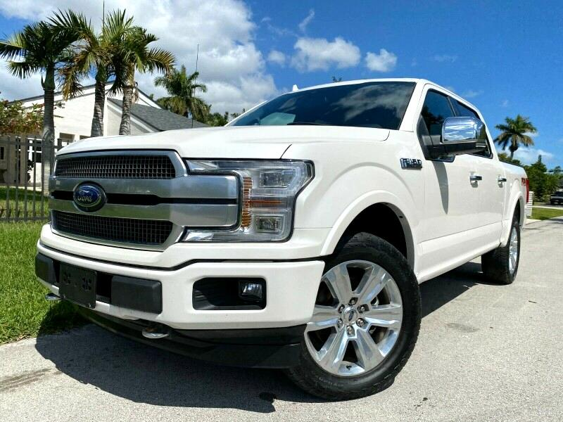Ford F-150 Platinum SuperCrew 5.5-ft. Bed 4WD 2018
