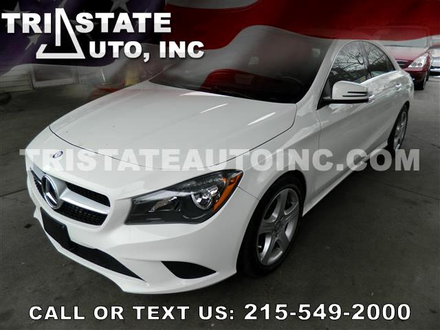 2015 Mercedes-Benz CLA-Class Sedan 4D CLA250 AWD I4 Turbo