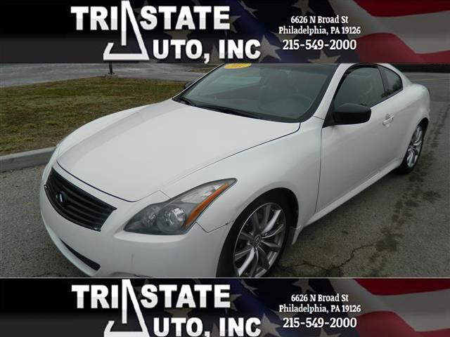 2011 Infiniti G Coupe Coupe 2D x AWD