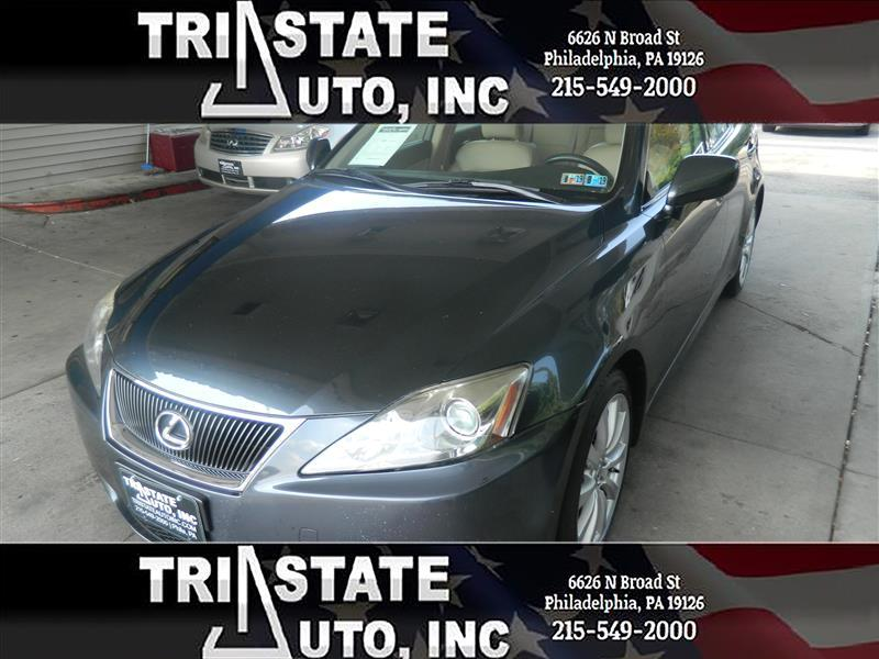 2007 Lexus IS Sedan 4D IS250 AWD