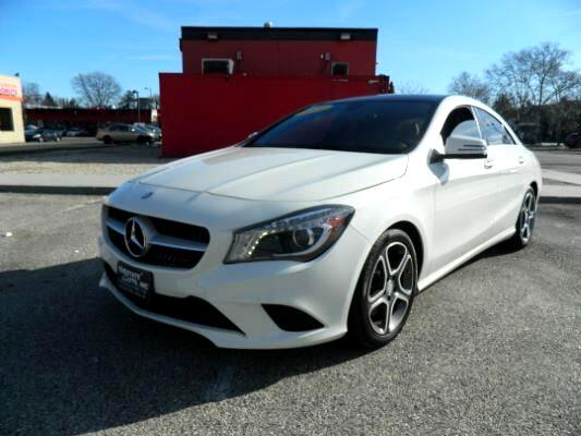 2014 Mercedes-Benz CLA-Class Sedan 4D CLA250 I4 Turbo