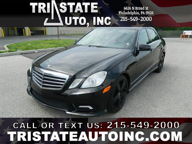 2011 Mercedes-Benz E-Class Sedan 4D E350 AWD