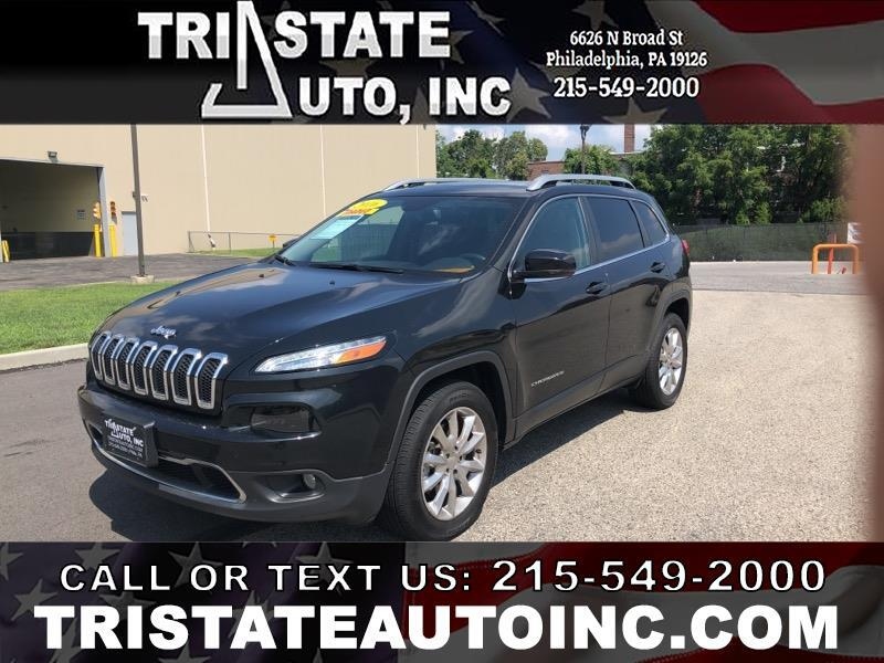 2016 Jeep Cherokee Utility 4D Limited 4WD V6