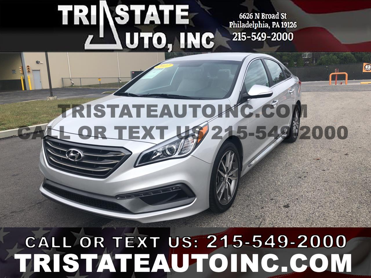 2017 Hyundai Sonata Sedan 4D Sport I4 Turbo