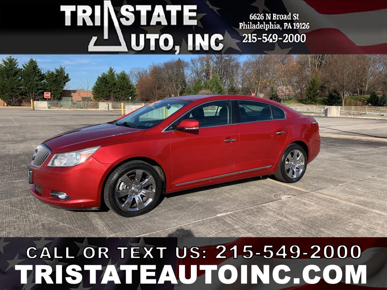 Buick LaCrosse Premium Package 3, w/Leather 2013