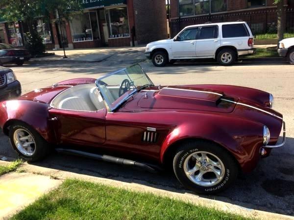 1966 Ford Cobra convertible