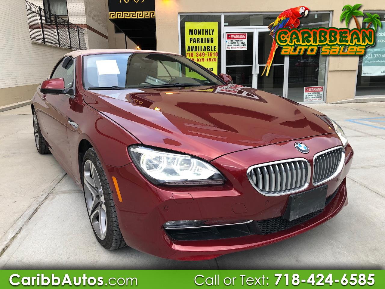 2015 BMW 6 Series 2dr Conv 650i xDrive AWD