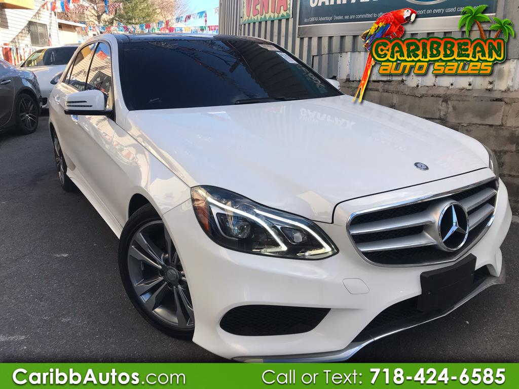 2016 Mercedes-Benz E-Class 4dr Sdn 3.2L *Ltd Avail*