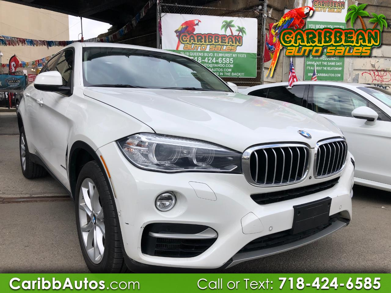 2015 BMW X6 AWD 4dr xDrive50i