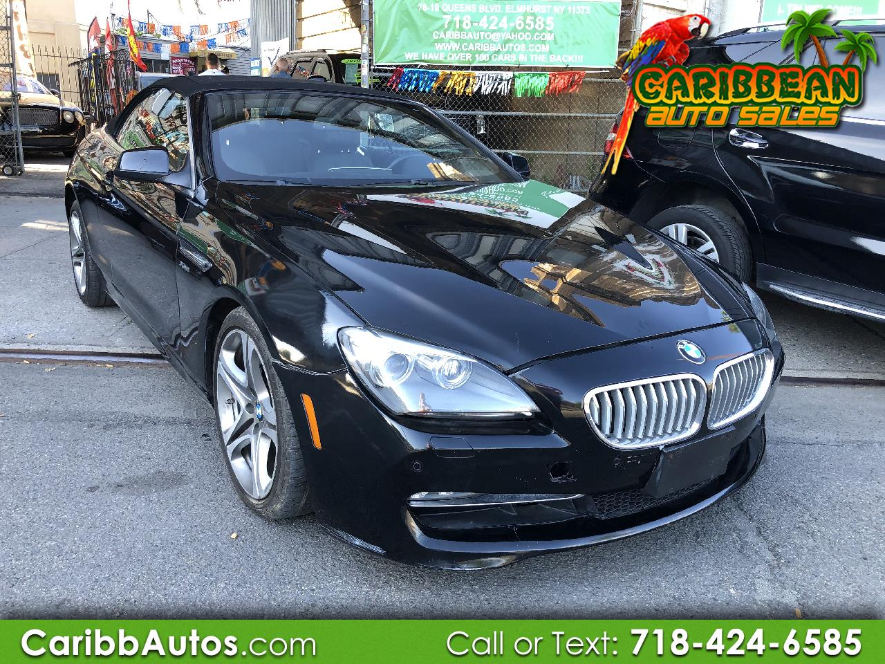 2012 BMW 6 Series 2dr Conv 650i xDrive