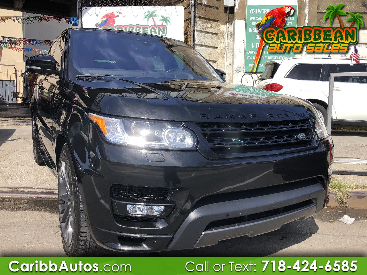 2017 Land Rover Range Rover Sport V6 Supercharged HSE Dynamic