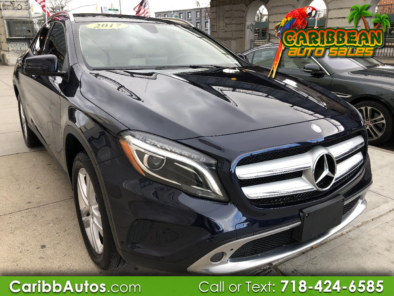Mercedes-Benz GLA GLA 250 4MATIC SUV 2017