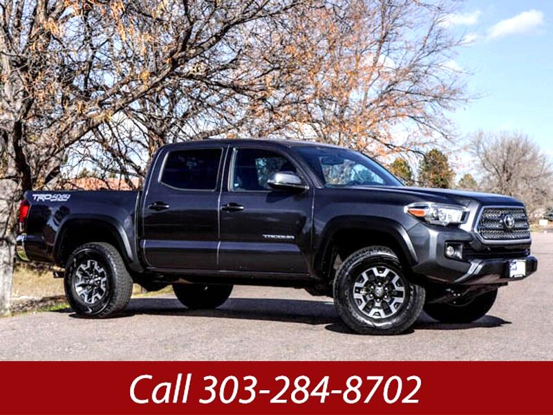 2016 Toyota Tacoma TRD Off Road Double Cab 5' Bed V6 4x4 AT (Natl)