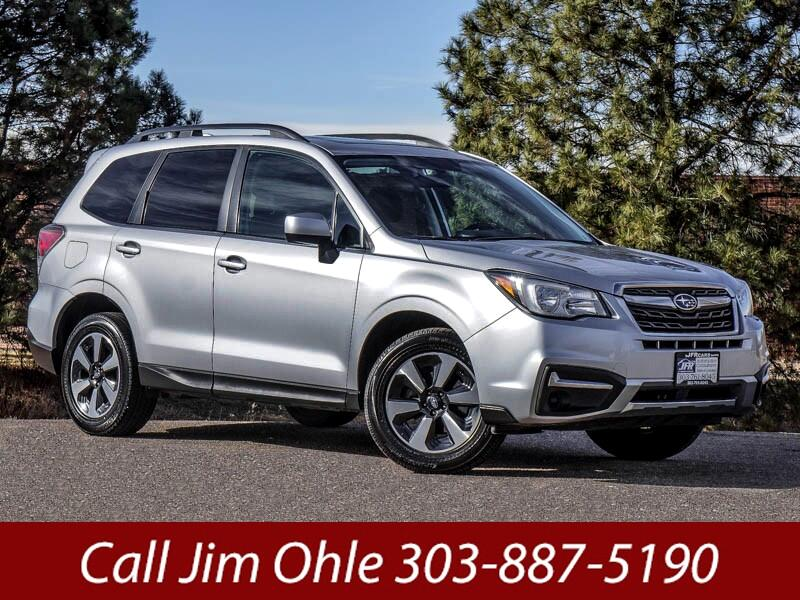 Used 2017 Subaru Forester 2.5i Premium PZEV CVT for Sale ...