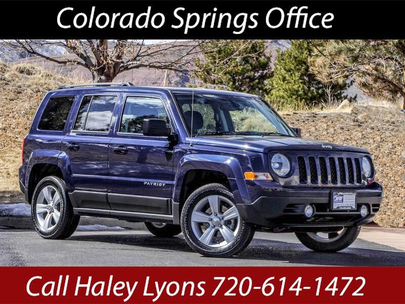 2017 Jeep Patriot Latitude 4WD
