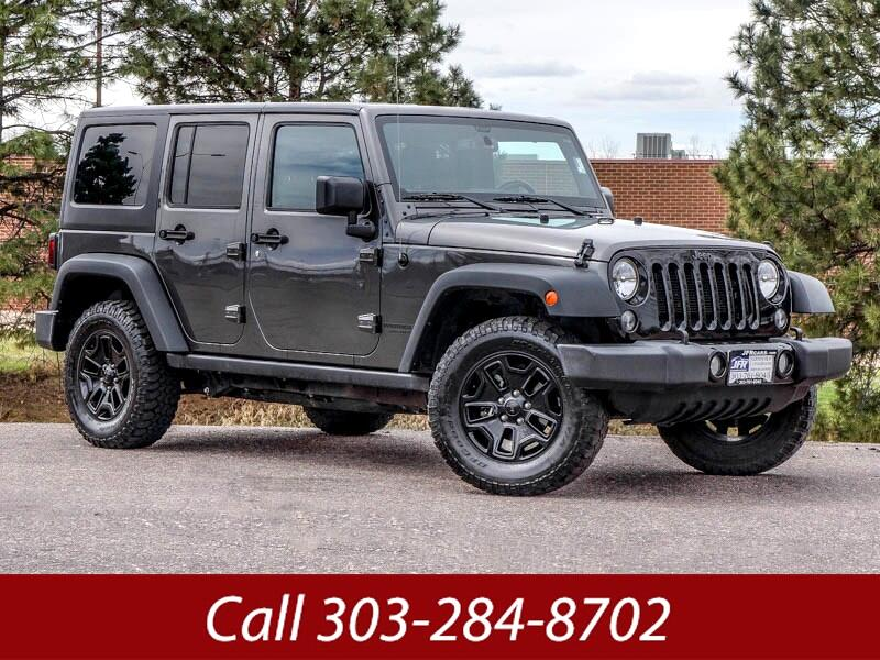 2016 Jeep Wrangler Unlimited Willy