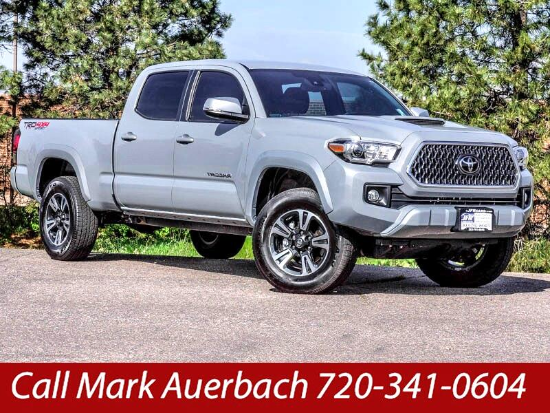 2018 Toyota Tacoma TRD Sport Double Cab 6' Bed V6 4x4 AT (Natl)