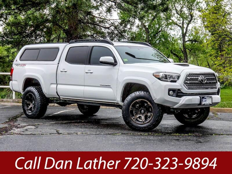 2017 Toyota Tacoma Double Cab Long Bed TRD Sport