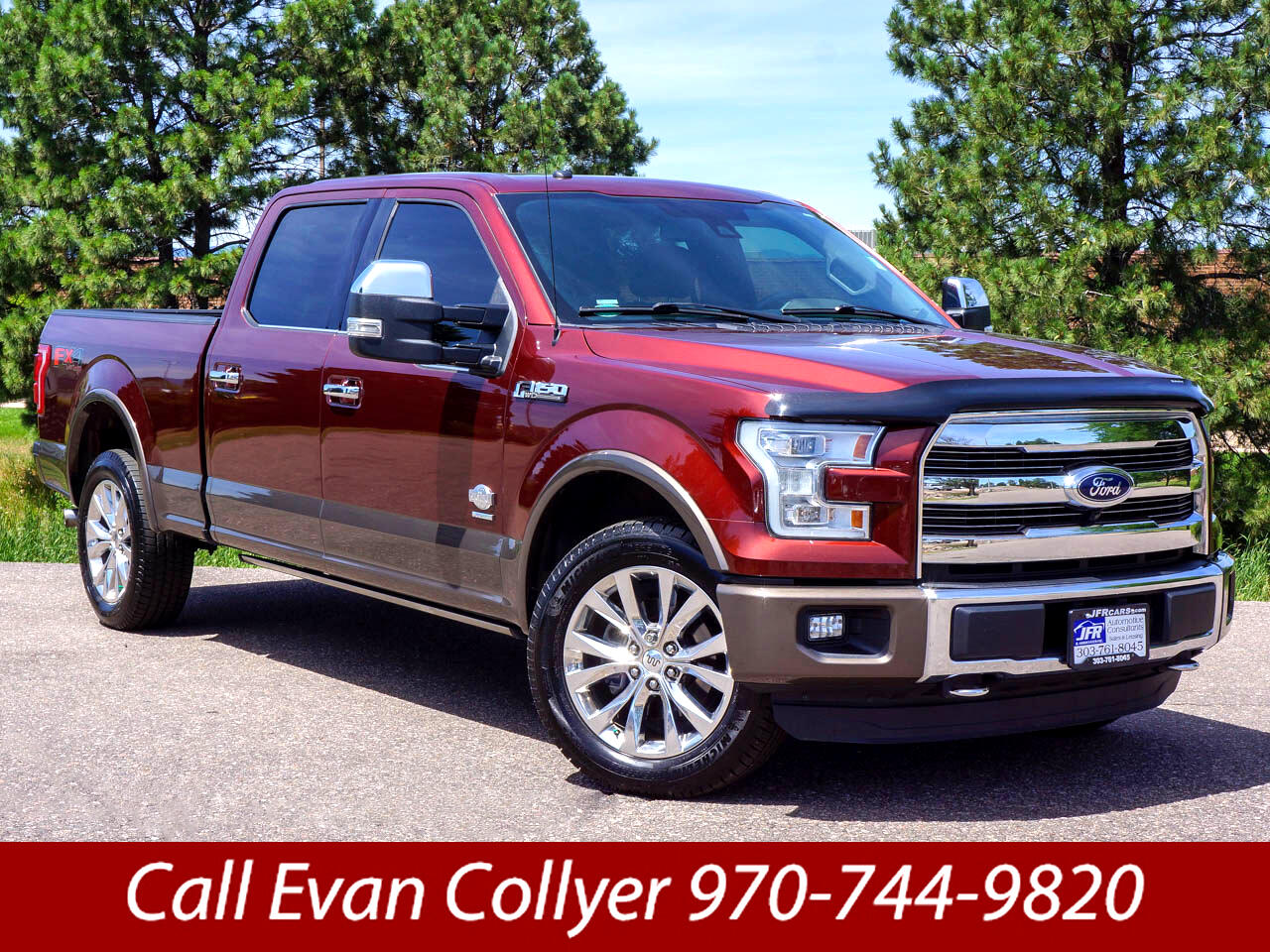 2016 Ford F-150 King Ranch SuperCrew 6.5-ft. Bed 4WD