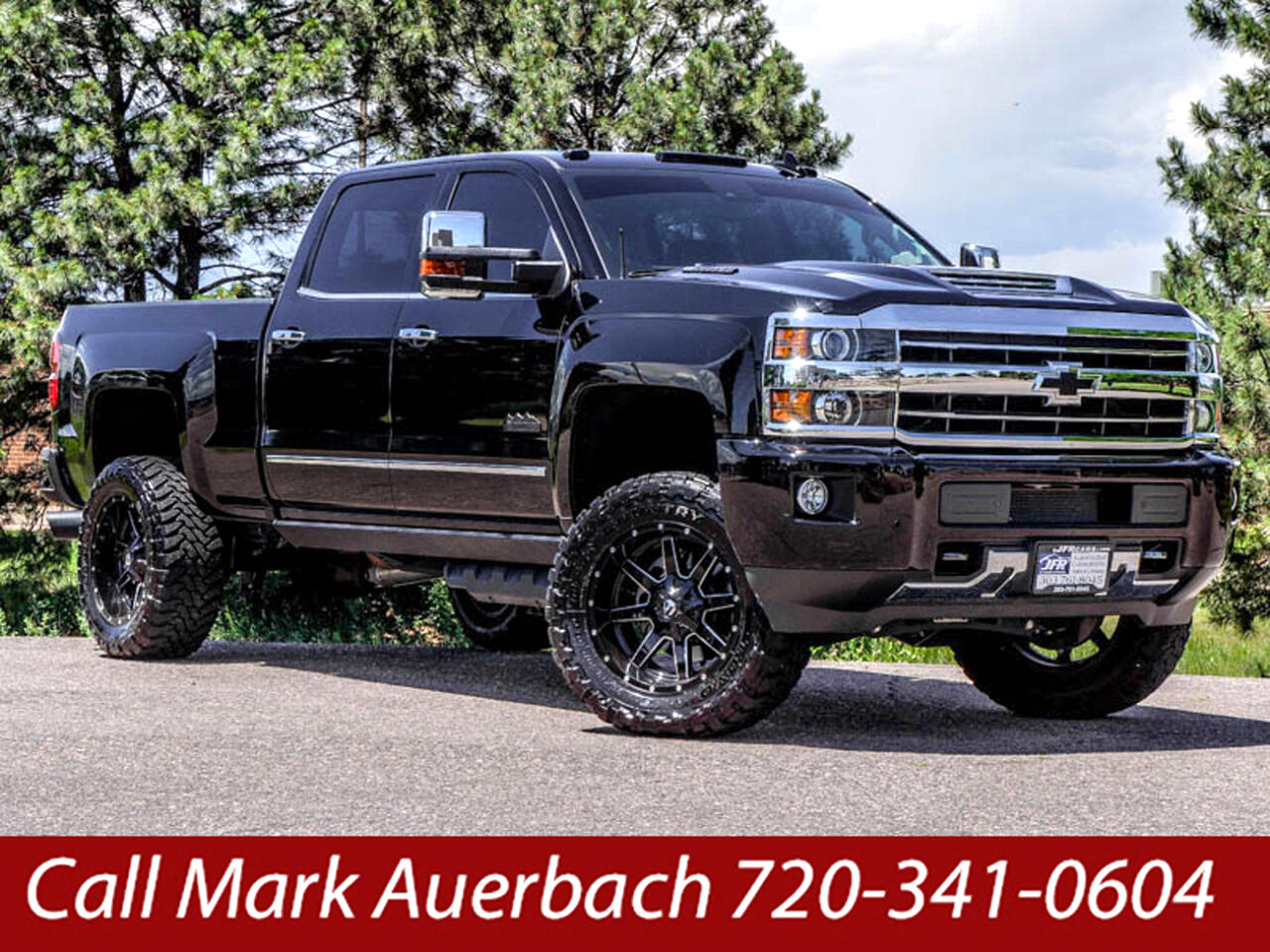 2018 Chevrolet Silverado 2500HD HIGH COUNTRY CREW CAB SHORT BOX 4X4
