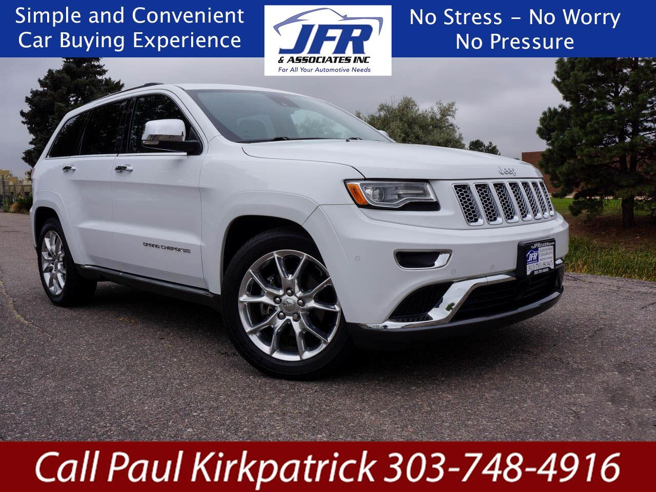 Jeep Grand Cherokee Summit 4WD 2015