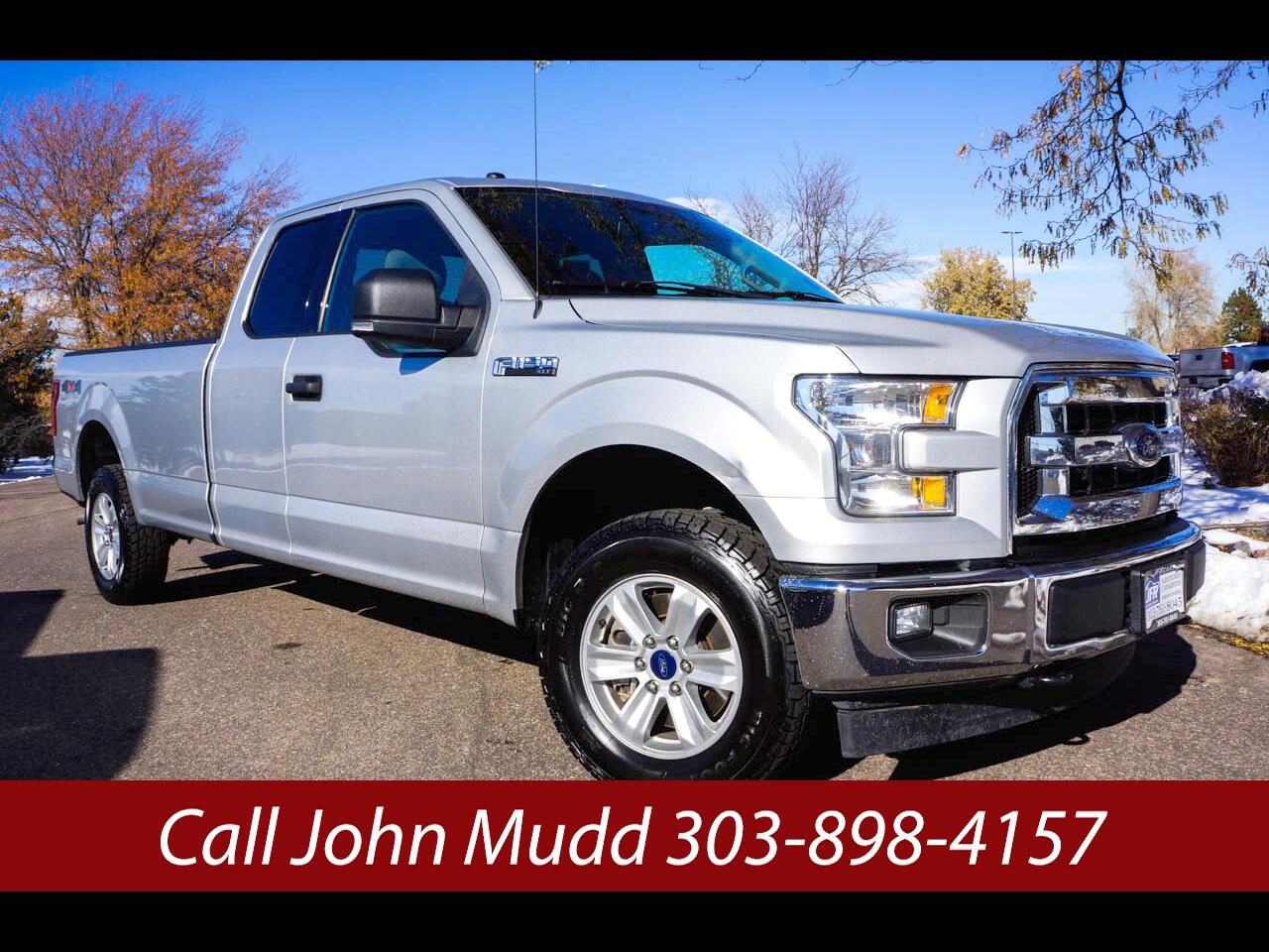 2017 Ford F-150 XLT Long Bed 4WD